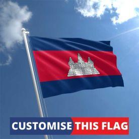 Custom Cambodia Flag