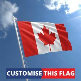 Custom Canada Flag