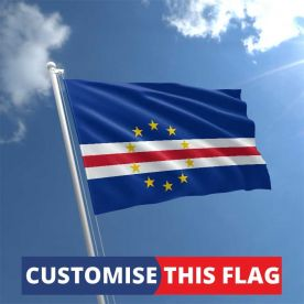 Custom Cape Verde Flag