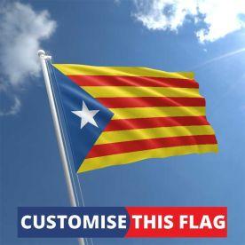 Custom Catalan Estelada Flag