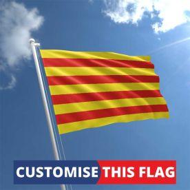 Custom Catalonia Flag