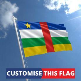 Custom Central African Republic Flag