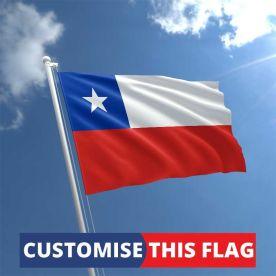 Custom Chile Flag
