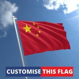 Custom China Flag