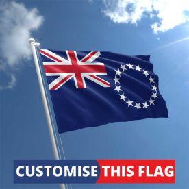 Custom Cook Islands Flag
