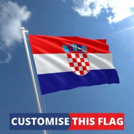 Custom Croatia Flag