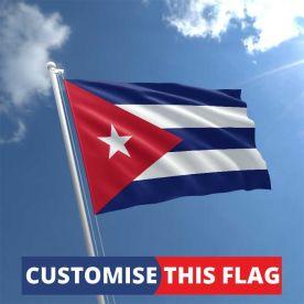 Custom Cuba Flag