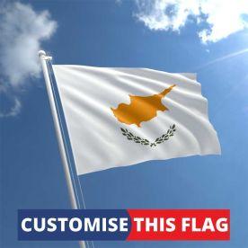 Custom Cyprus Flag