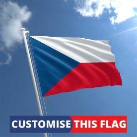 Custom Czech Republic Flag