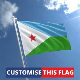 Custom Djibouti Flag