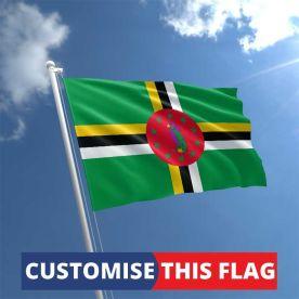 Custom Dominica Flag