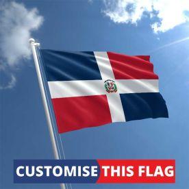 Custom Dominican Republic Flag