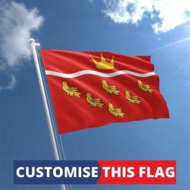 Custom East Sussex Flag