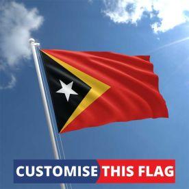 Custom East Timor Flag