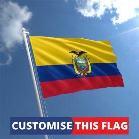 Custom Ecuador Flag