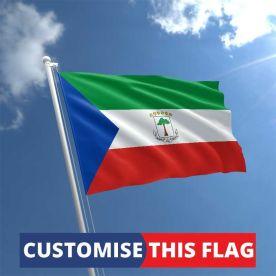 Custom Equatorial Guinea Flag