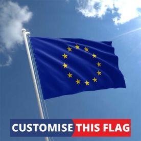 Custom European Union Flag