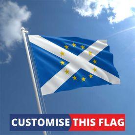 Custom EU Scotland Flag