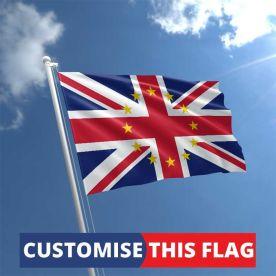 Custom EU Union Jack Flag
