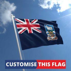 Custom Falkland Islands Flag