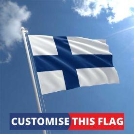 Custom Finland Flag