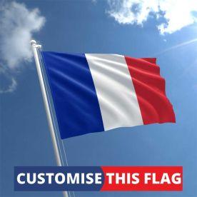 Custom France Flag
