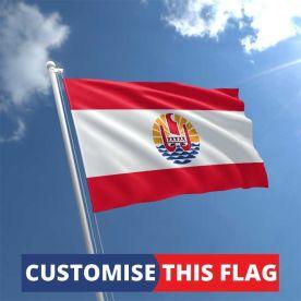 Custom French Polynesia Flag