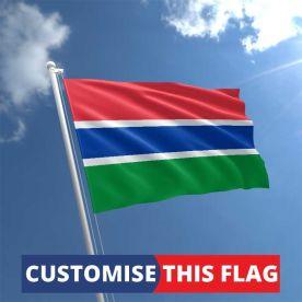 Custom Gambia Flag