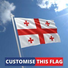Custom Georgia Flag
