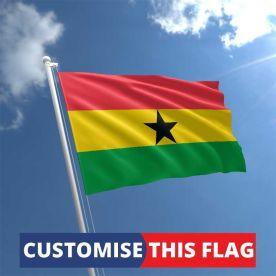 Custom Ghana Flag