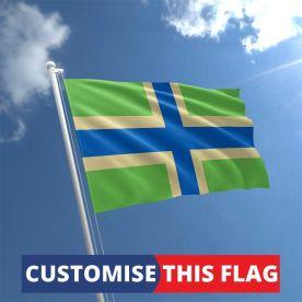 Custom Gloucestershire Flag