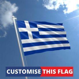 Custom Greece Flag