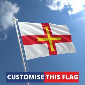 Custom Guernsey Flag