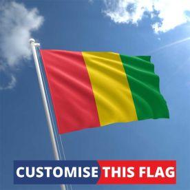 Custom Guinea Flag