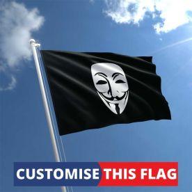 Custom Guy Fawkes Flag