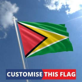 Custom Guyana Flag