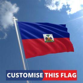 Custom Haiti Flag