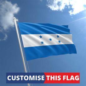 Custom Honduras Flag