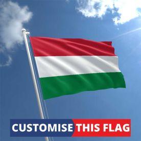 Custom Hungary Flag