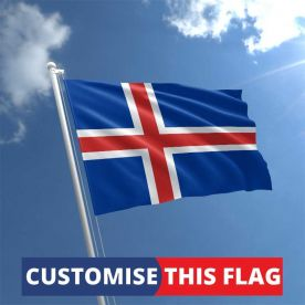 Custom Iceland Flag