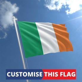 Custom Ireland Flag