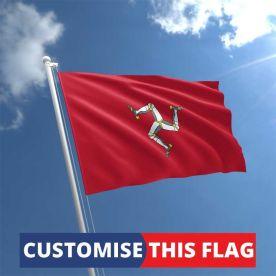 Custom Isle of Man Flag
