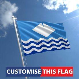 Custom Isle of Wight Flag