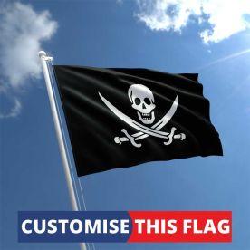 Custom Jack Rackham flag