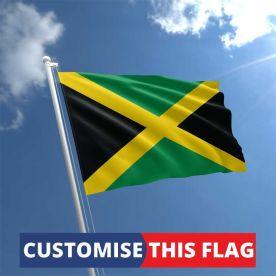 Custom Jamaica Flag