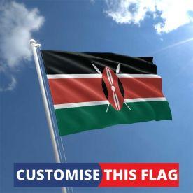 Custom Kenya Flag