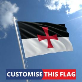 Custom Knights Templar Flag