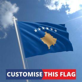 Custom Kosovo Flag