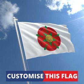 Custom Lancashire Flag