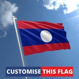 Custom Laos Flag